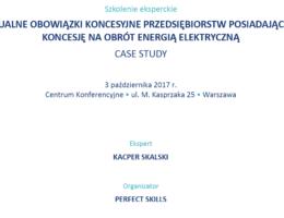 Obowiązki koncesjonariusza wobec URE – szkolenie dla spółek posiadających koncesje na obrót energią elektryczną