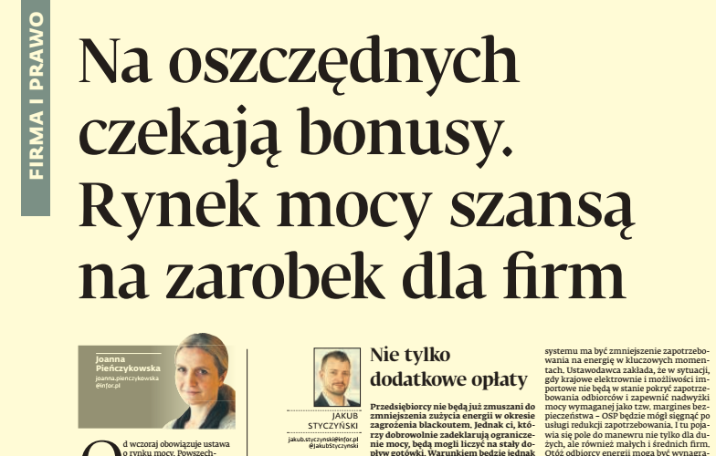 Dziennik Gazeta Prawna cytuje mec. Kacpra Skalskiego