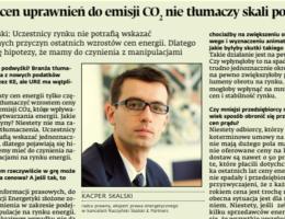 Kacper Skalski dla Dziennika Gazeta Prawna o podwyżkach cen energii dla odbiorców