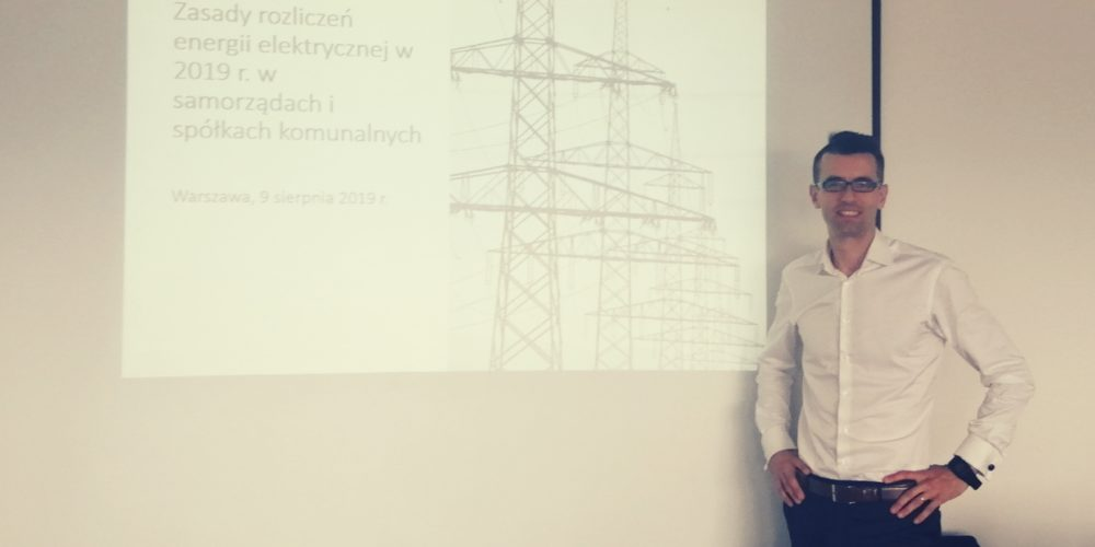 Szkolenie – ustawa prądowa zasady rozliczeń dla samorządów i spółek komunalnych