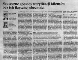 Publikacja prawników Kancelarii Raczyński Skalski & Partners w Dzienniku Gazecie Prawnej